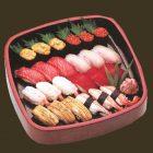 特上寿司 ¥7,800 寿司職人がこだわった厳選素材の美味をお楽しみ下さい。 3人前 30×30cm