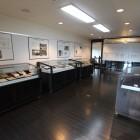 人と業績等を紹介する「展示室」