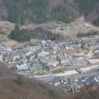 展望台から見る昼神温泉郷。