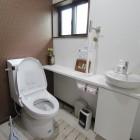 ビデ付きトイレです。
