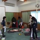 売木村にての骨盤教室