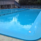 25m×15m 3コース分は幼児用でかなり浅い水深となっております。