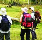 【軽登山】気候も良く、「本格登山」まで行かなくともハイキング感覚で楽しむことができます。高原を出発点に①『横岳~大川入山(1908m)』②『馬の背~蛇峠山(1664m)』の2コースがあります。